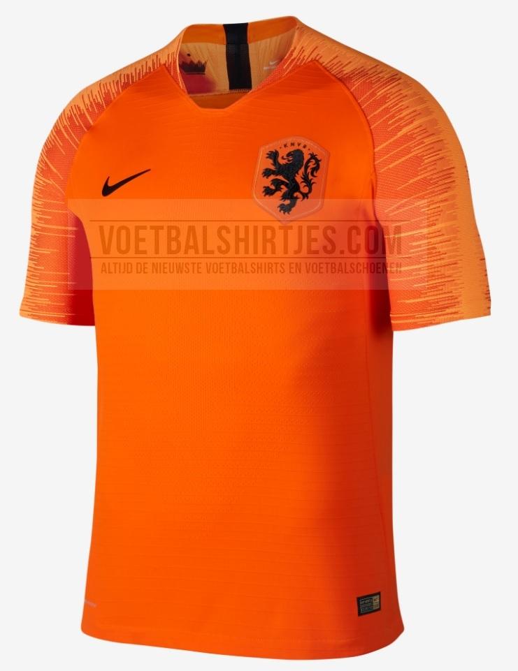 Pays-Bas 2018 maillot foot domicile Hollande