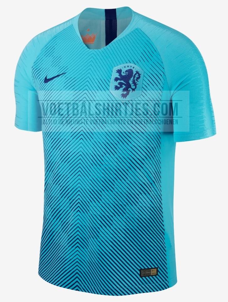 Pays-Bas 2018 maillot foot exterieur Hollande