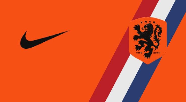 Pays bas 2018 design maillot domicile