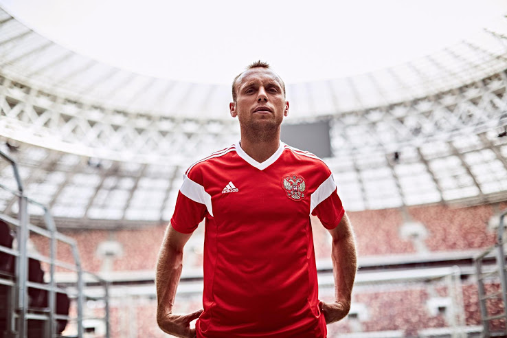 Russie 2018 maillot Adidas coupe du monde 2018
