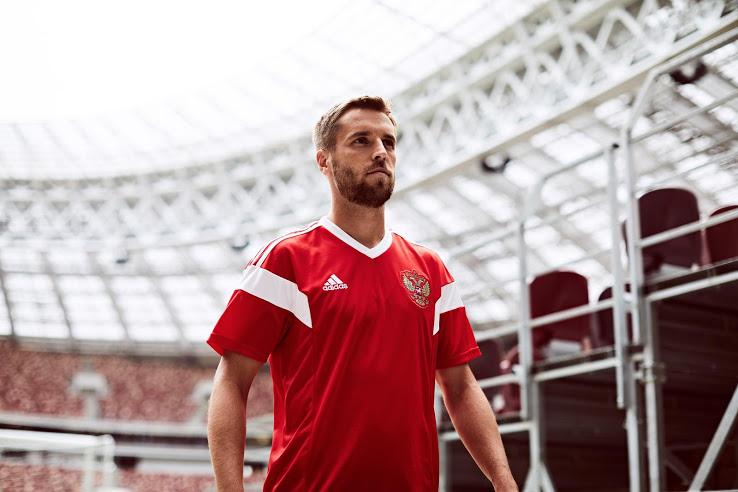 Russie 2018 maillot domicile coupe du monde 2018 1