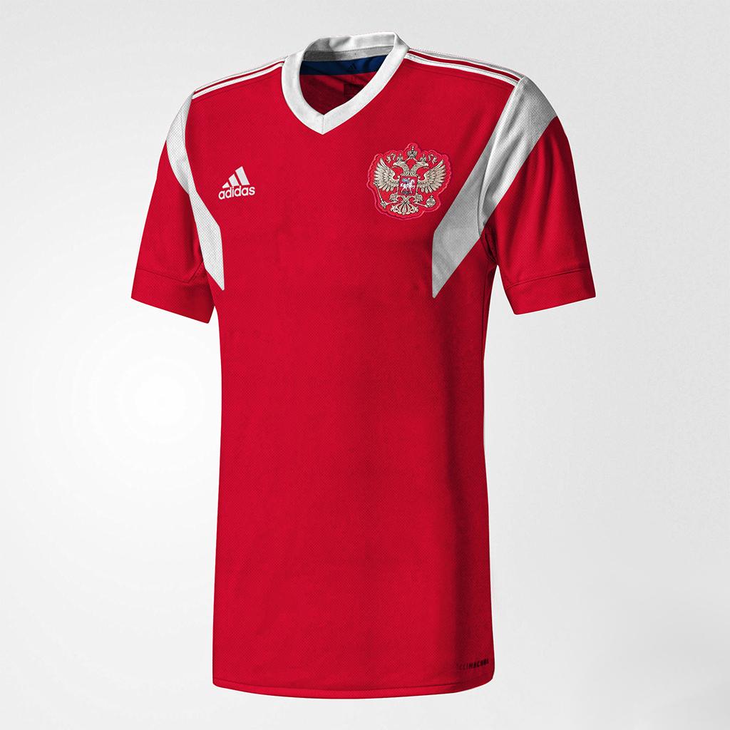 Russie 2018 maillot domicile coupe du monde 2018