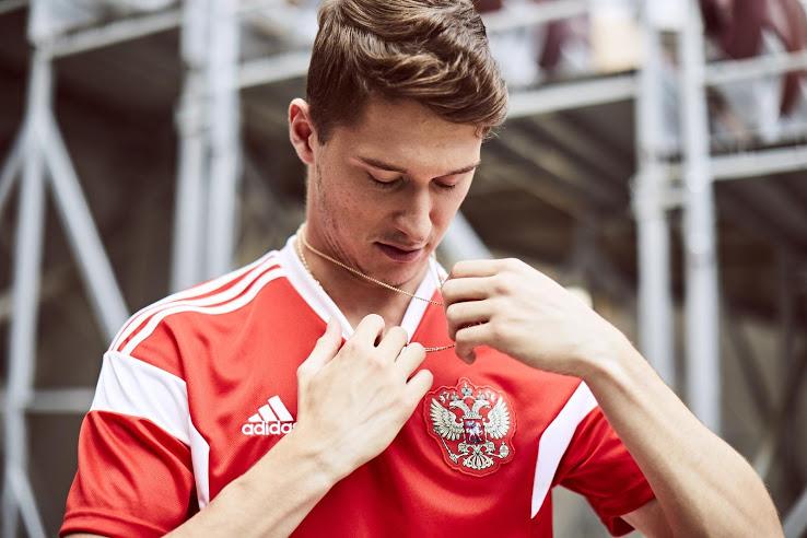 Russie 2018 nouveau maillot domicile coupe du monde 2018