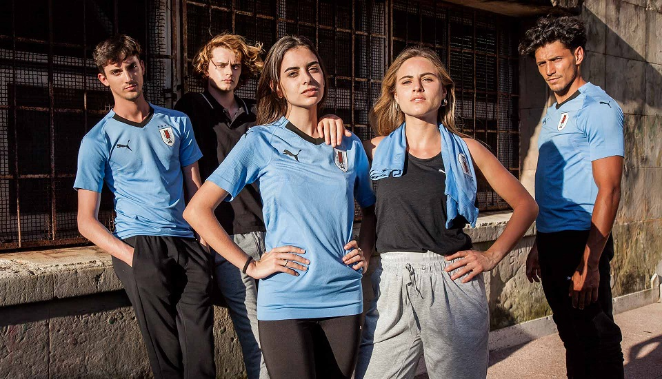 Uruguay 2018 maillot de foot Puma coupe du monde 2018