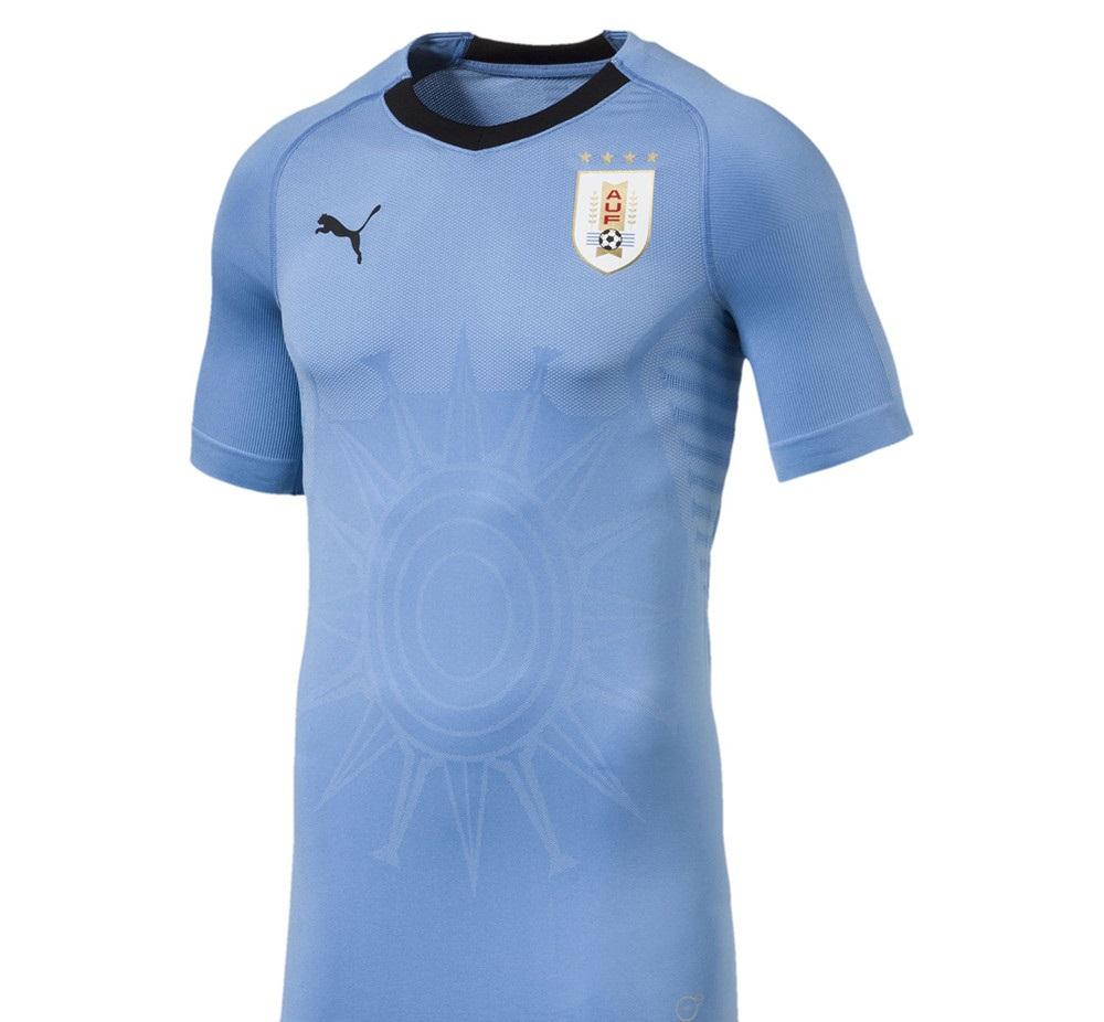 Uruguay 2018 maillot domicile officiel Puma