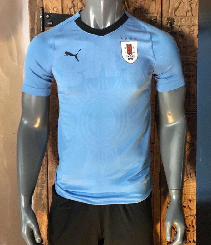 Uruguay 2018 maillot football coupe du monde domicile