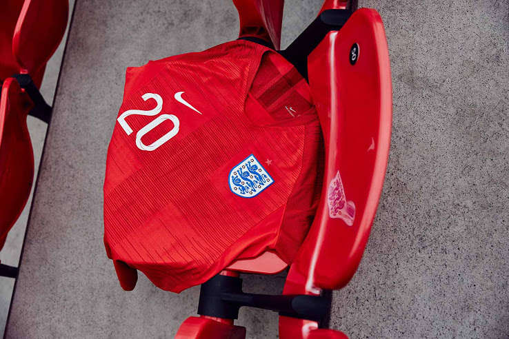 flocage maillot foot Angleterre exterieur 2018