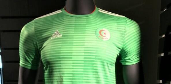 Les nouveaux maillots de foot Algérie 2018 chez Adidas