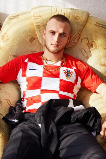 Croatie 2018 maillot domicile Coupe du monde 2018 Nike