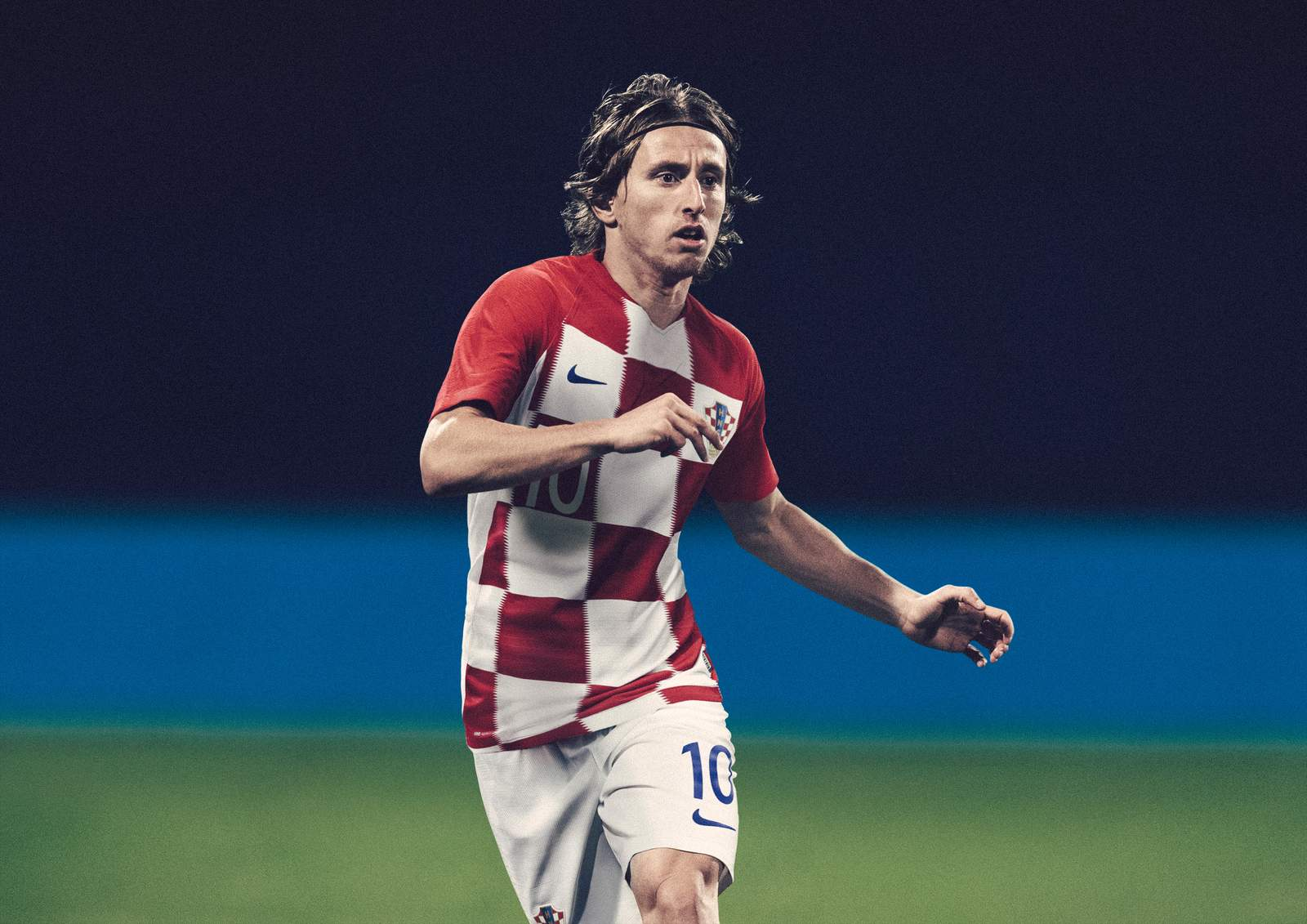 Croatie 2018 maillot domicile Modric Coupe du monde 2018 Nike