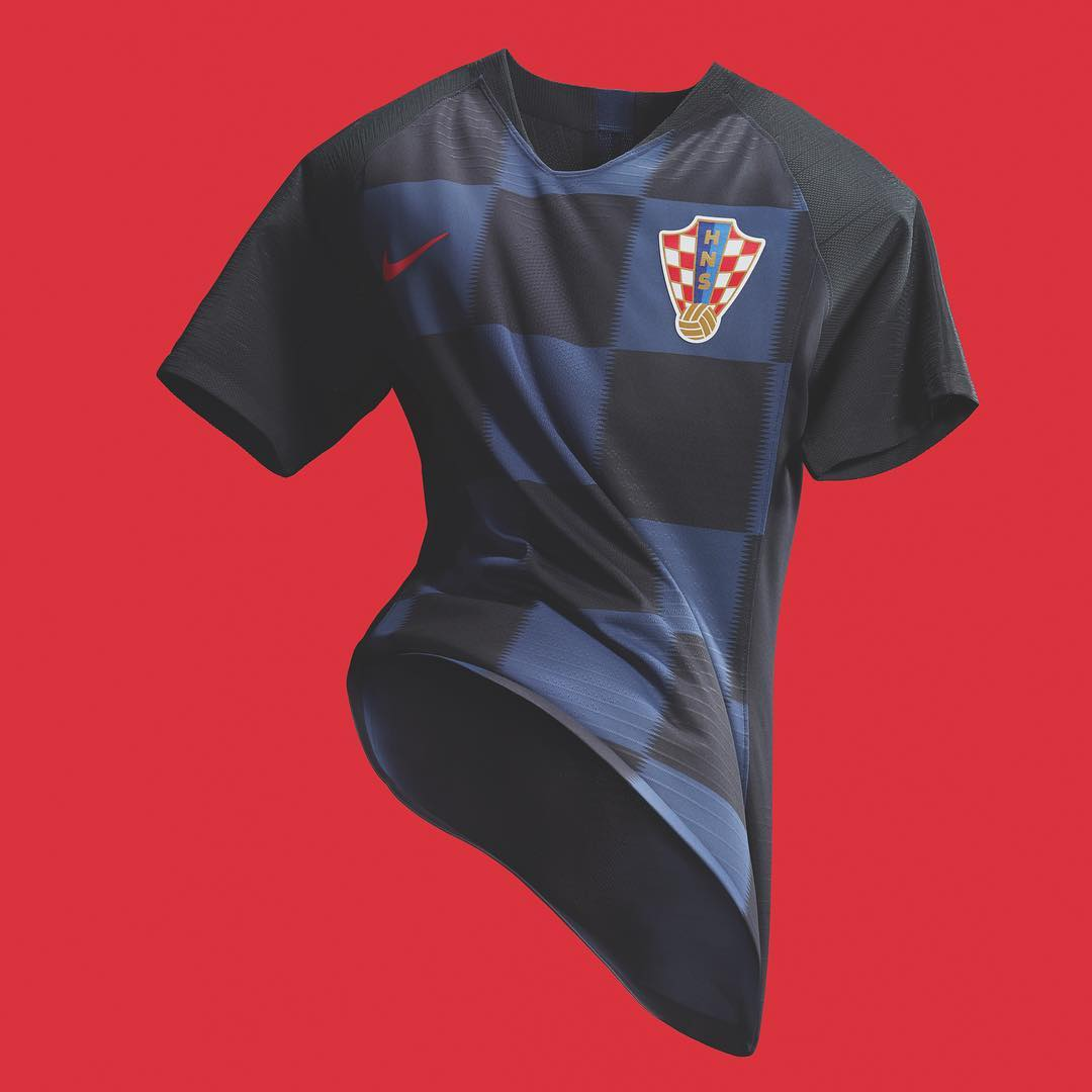 Croatie 2018 maillot exterieur Nike coupe du monde 2018