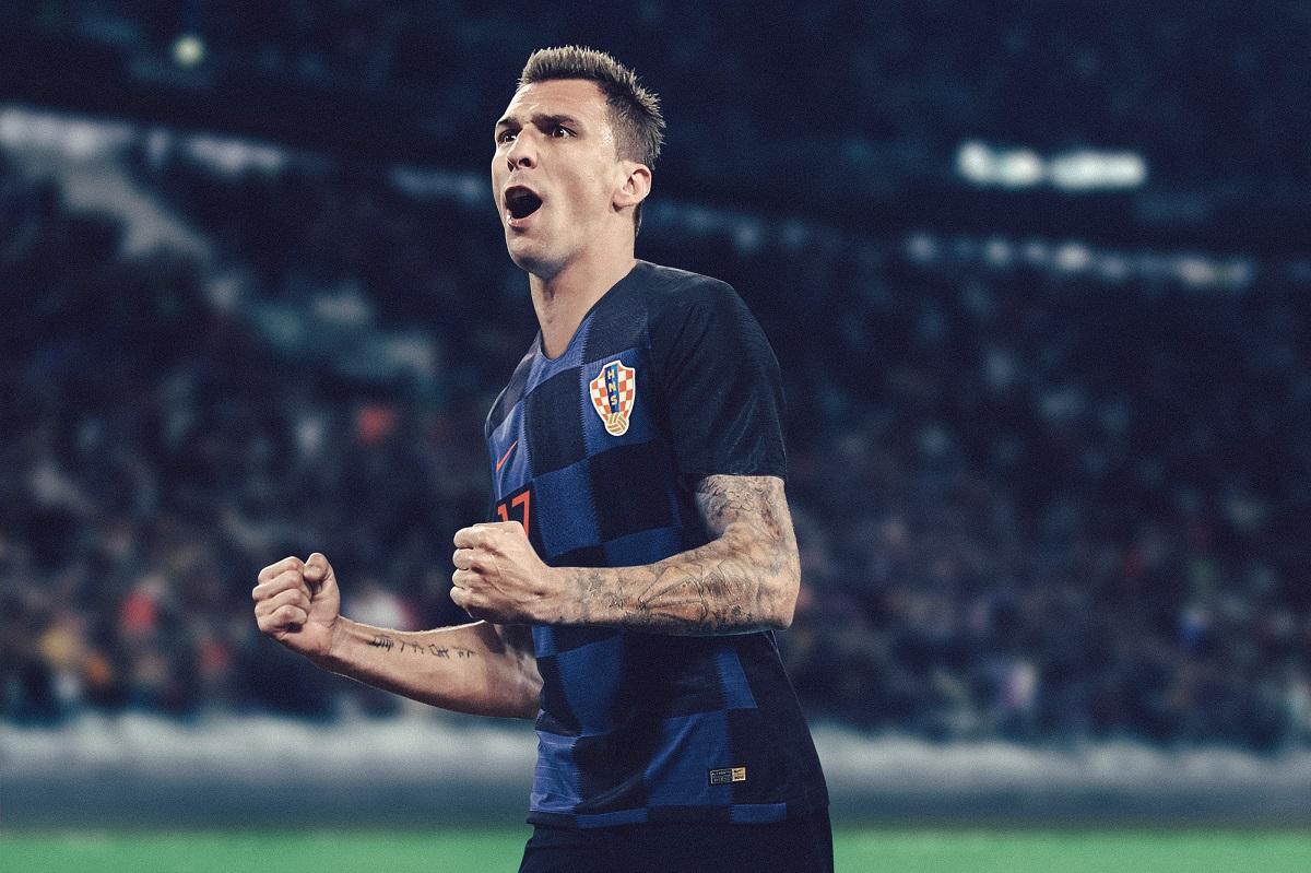 S-2XL 2018 Coupe du Monde Croatie domicile et ext/érieur maillot /à manches courtes 10 Modric football uniforme costume homme tissu /à s/échage rapide