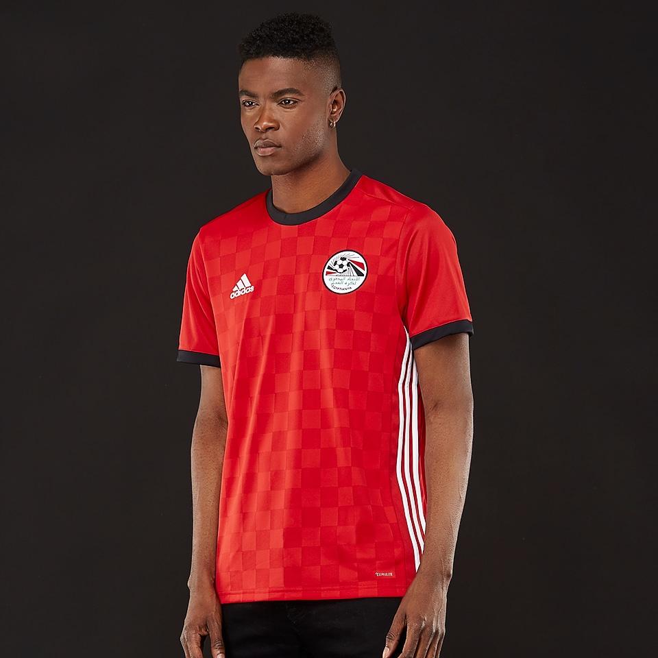 Adidas fait les nouveaux maillots de l 39 egypte 2018 coupe - Prochaine coupe du monde de foot 2018 ...
