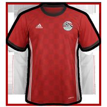 Egypte 2018 maillot de foot domicile coupe du monde 2018