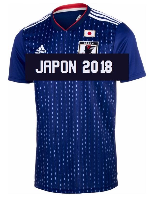Japon 2018 maillot de foot domicile coupe du monde 2018