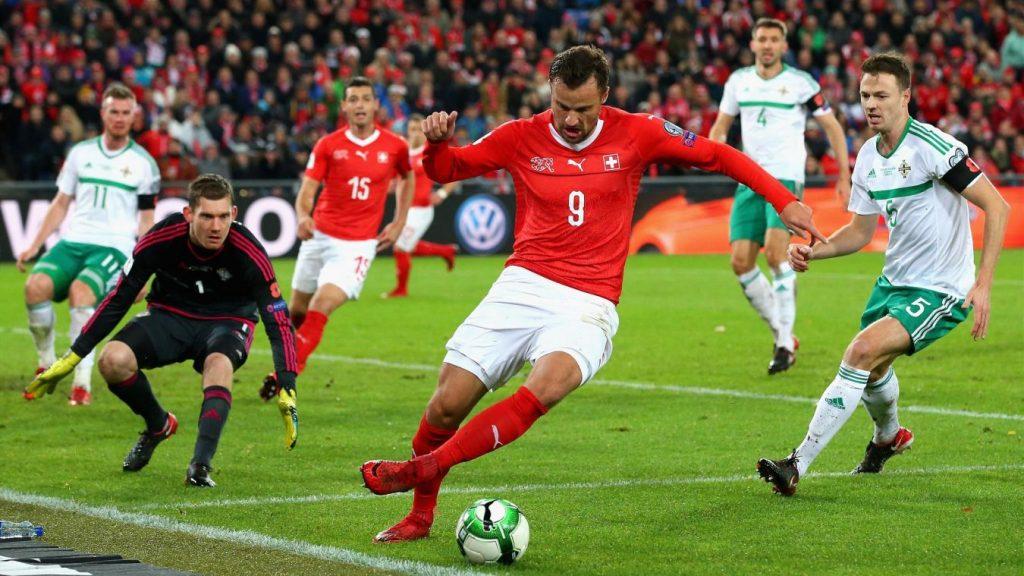 Suisse 2018 maillot Puma coupe du monde 2018