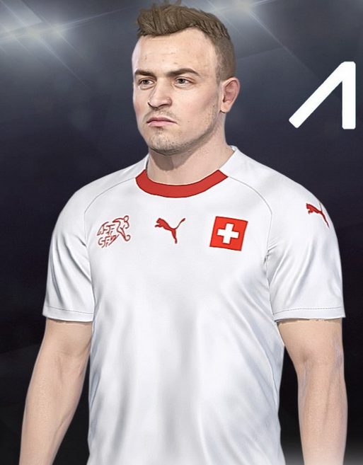 Suisse 2018 maillot de foot exterieur coupe du monde 2018 montage
