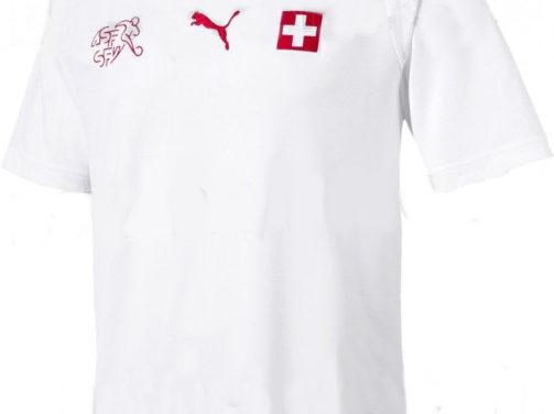 Puma fait les nouveaux maillots de foot Suisse 2018