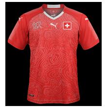 Suisse 2018 maillot domicile coupe du monde 2018