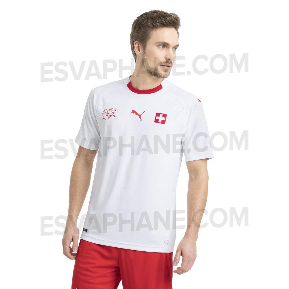 maillot coupe du monde Suisse 2018 exterieur