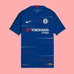Chelsea 2019 maillot domicile football 18 19 Nike