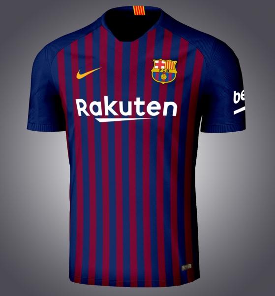 FC Barcelone 2019 maillot domicile foot