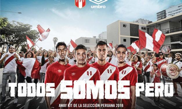 Les maillots du Pérou 2018 pour la coupe du monde 2018