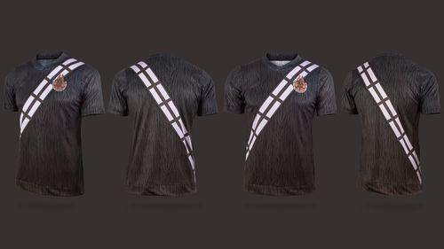 Star Wars maillot de foot Chewbacca