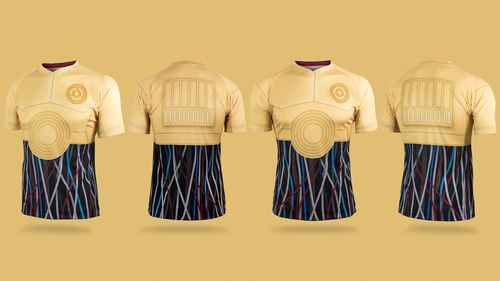 Star Wars maillot de foot droide C6PO