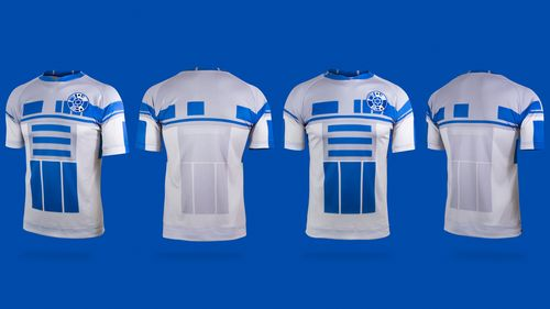 Star Wars maillot de foot droide