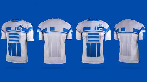 Star Wars maillot de foot droide