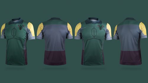 Star Wars maillot football Boba Fett