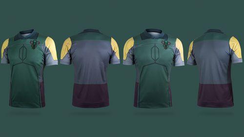 Star Wars maillot football Boba Fett
