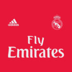 couleur Real Madrid maillot third 2019 rouge