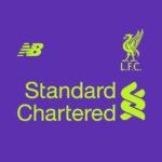 couleurs Liverpool 2019 maillot exterieur foot