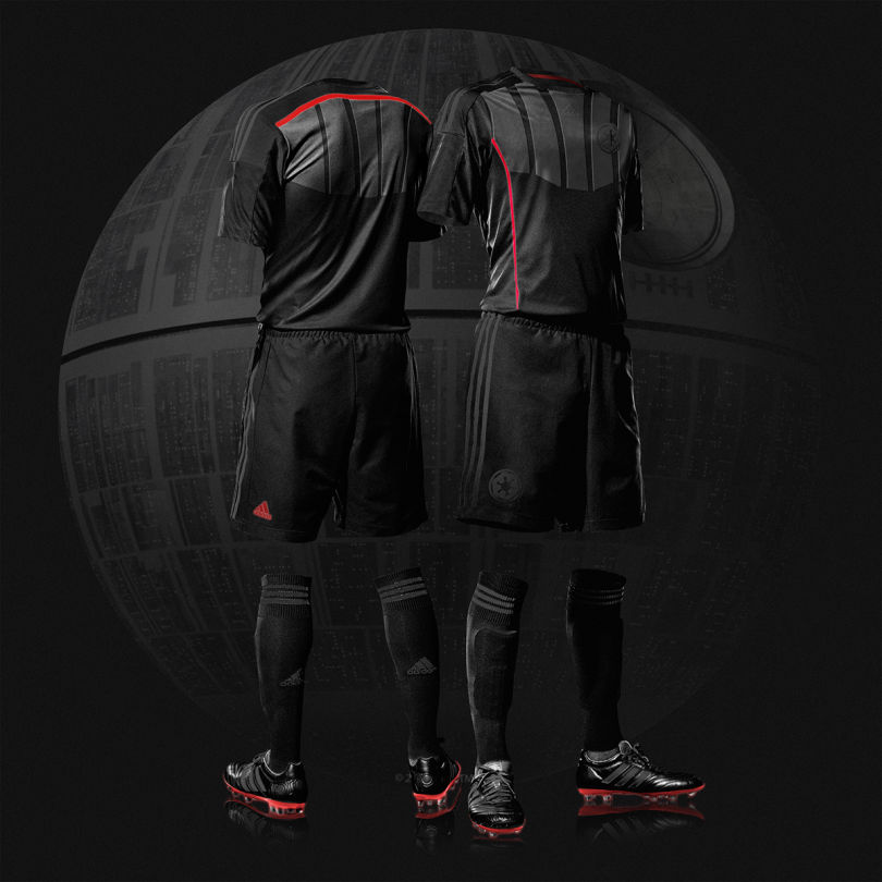 maillot de football star wars dark vador