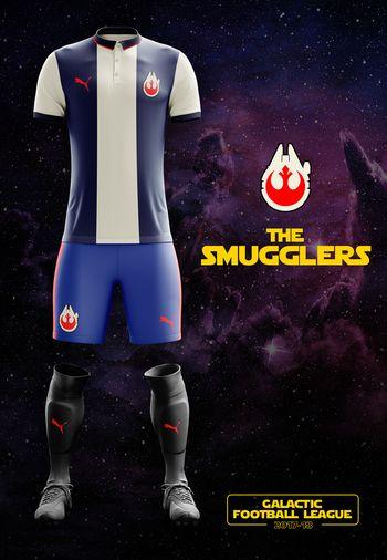 maillot foot Star Wars Alliance
