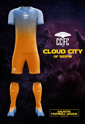 maillot foot Star Wars Bespin