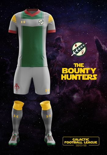 maillot foot Star Wars Bounty Hunters