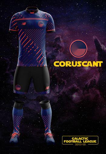 maillot foot Star Wars Coruscant