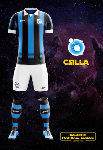 maillot foot Star Wars Csilla