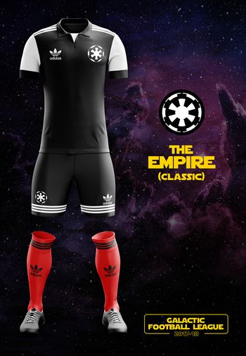 maillot foot Star Wars Empire