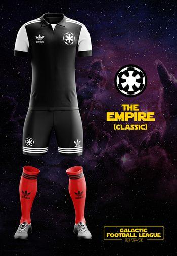 maillot foot Star Wars Empire