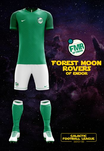 maillot foot Star Wars Endor