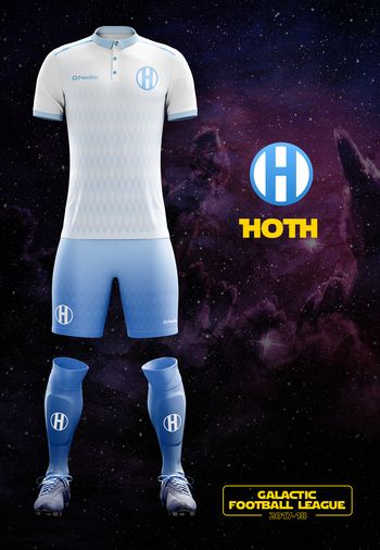 maillot foot Star Wars Hoth