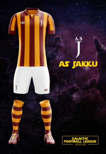maillot foot Star Wars Jakku