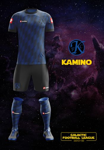 maillot foot Star Wars Kamino
