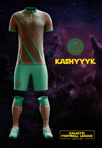 maillot foot Star Wars Kashyyk
