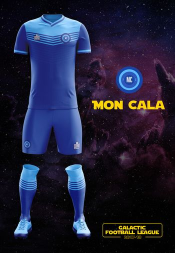 maillot foot Star Wars Mon Cala