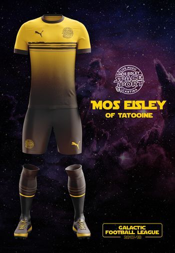 maillot foot Star Wars Mos Esley